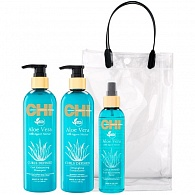 CHI Aloe Vera Curls For Me Trio Kit набор для волос
