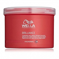 Wella Professionals Brilliance Treatment For Fine To Normal, Coloured Hair маска 500 мл