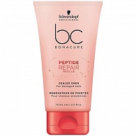 Schwarzkopf Professional BC Peptide Repair Rescue Sealed Ends сыворотка 75 мл