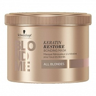Schwarzkopf Professional Blond Me Keratin Restore Bonding Treatment восстанавливающая маска 500 мл