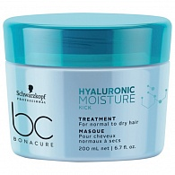 Schwarzkopf Professional BC Hyaluronic Moisture Kick Treatment  маска 200 мл