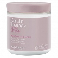 Alfaparf Lisse Design Keratin Therapy Rehydrating Mask маска увлажняющая 200 мл