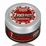 Loreal Professionnel Homme Poker Paste моделирующая паста 75 мл