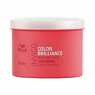 Wella Professionals INVIGO Colour Brilliance Vibrant Colour Mask Fine/Normal Hair маска-уход 500 мл